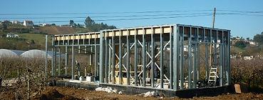 Casa Modular estrutura em aço leve LSF
