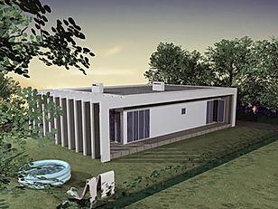 Casas pré-fabricadas