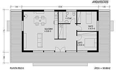 Casas pré-fabricadas modulares de luxo