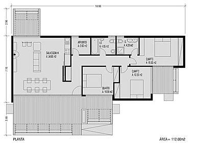 moradia modular espetacular em aço leve