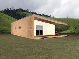 construção modular em aço leve LSF