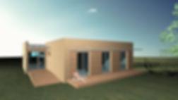 casa pré-fabricada modular