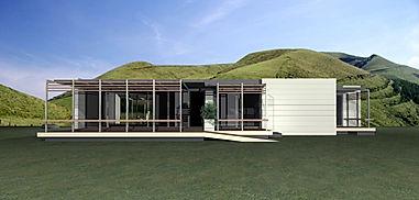 casas modulares pré-fabricadas