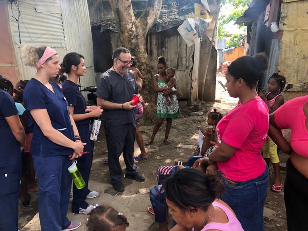 Medical Mission Trip Students School