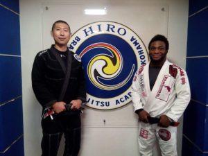 Training at Hiro BJJ in Yokohama with Hiro-sensei