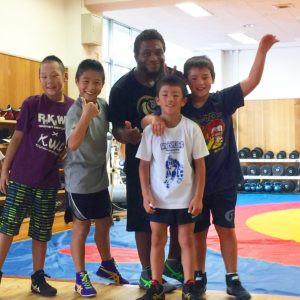 Training Wrestling with the Tokyo Police Squad 6 Youth Wrestling Program