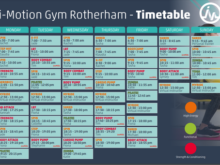 Our Timetable Just Got Better!