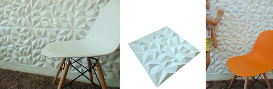 Placa 3d Impress 50x 50 cm