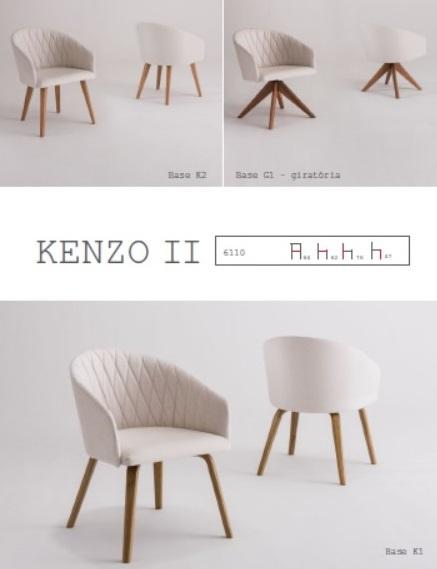 Kenzo II_L 64 x P 62 x A 76 cm