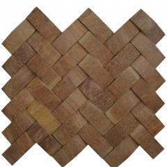 Mosaico de Madeira Angelim 37 - 29 x 25,5 cm