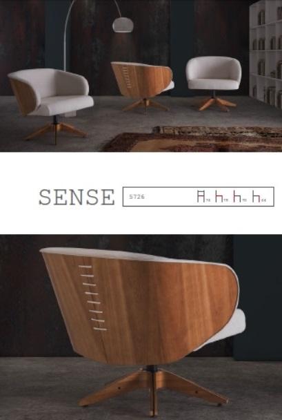 Sense_L 74 x P 78 x A 70 cm