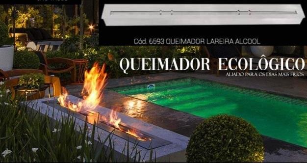 3.4-Queimador Ecológico / L 120 x h 8 x P 10 cm / R 5.418
