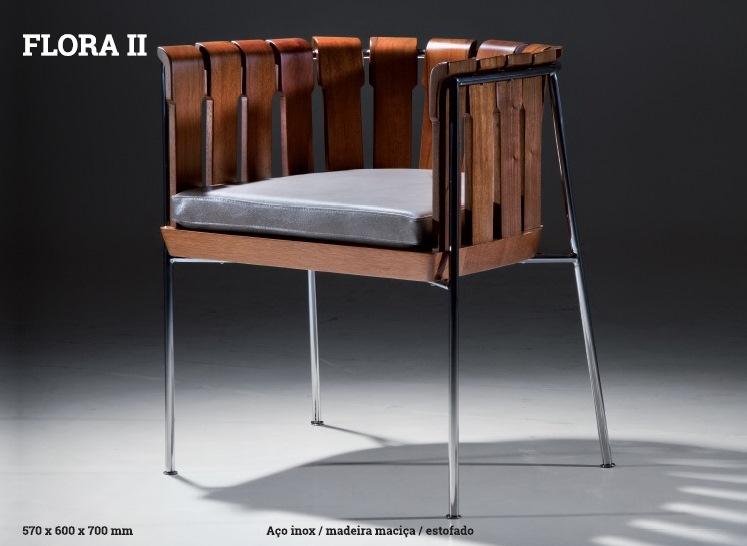 Cadeira FLORA II
