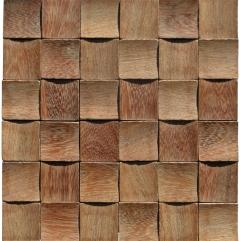 Mosaico de Madeira Angelim 55 - 30 x 30 cm