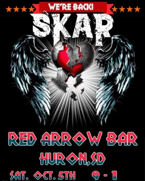 SKAR Rocks Red Arrow 10.5.19