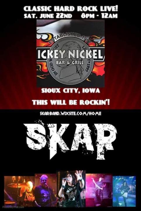 SKAR @ Ickey Nickel Bike Night 9.7.19