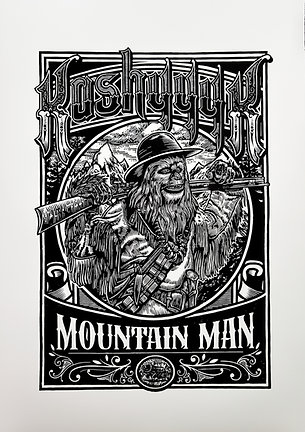 """MOUNTAIN MAN"""