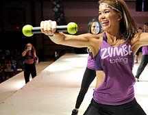 Zumba toning Classes with Elizabeth Bravo