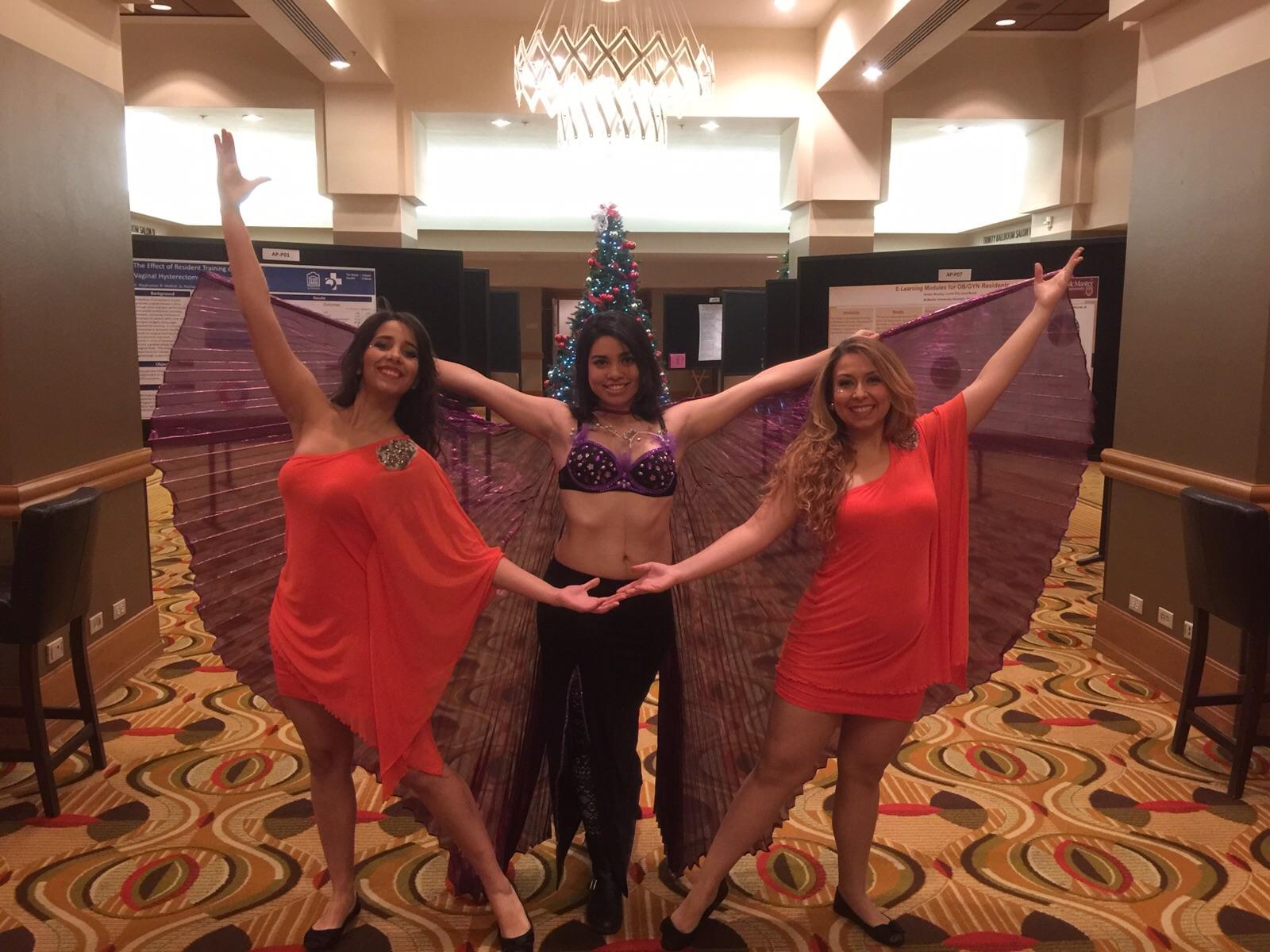 Salsa Latin Belly Samba Dancers