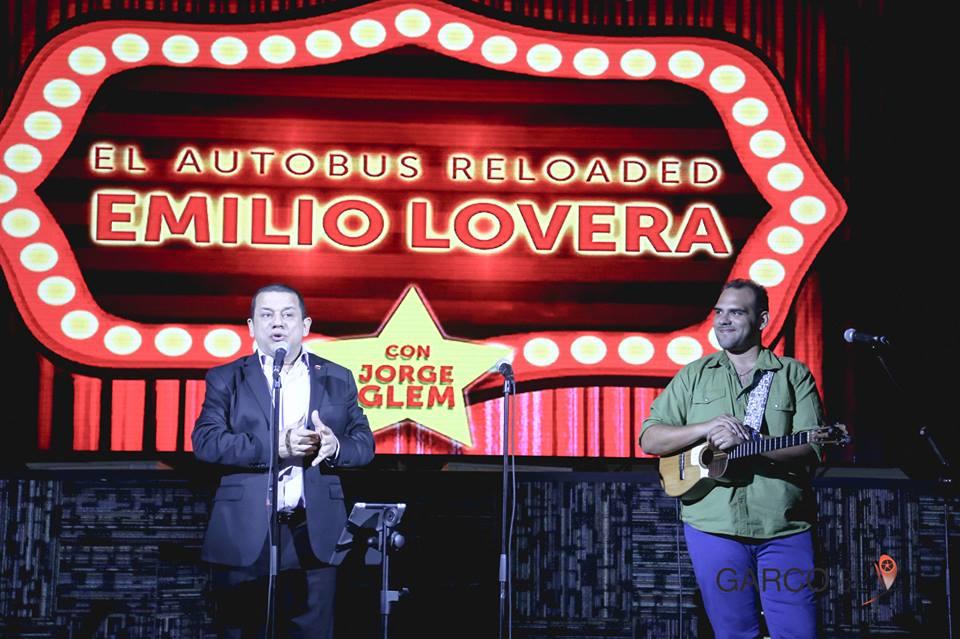 Emilio Lovera y Jorge Glen