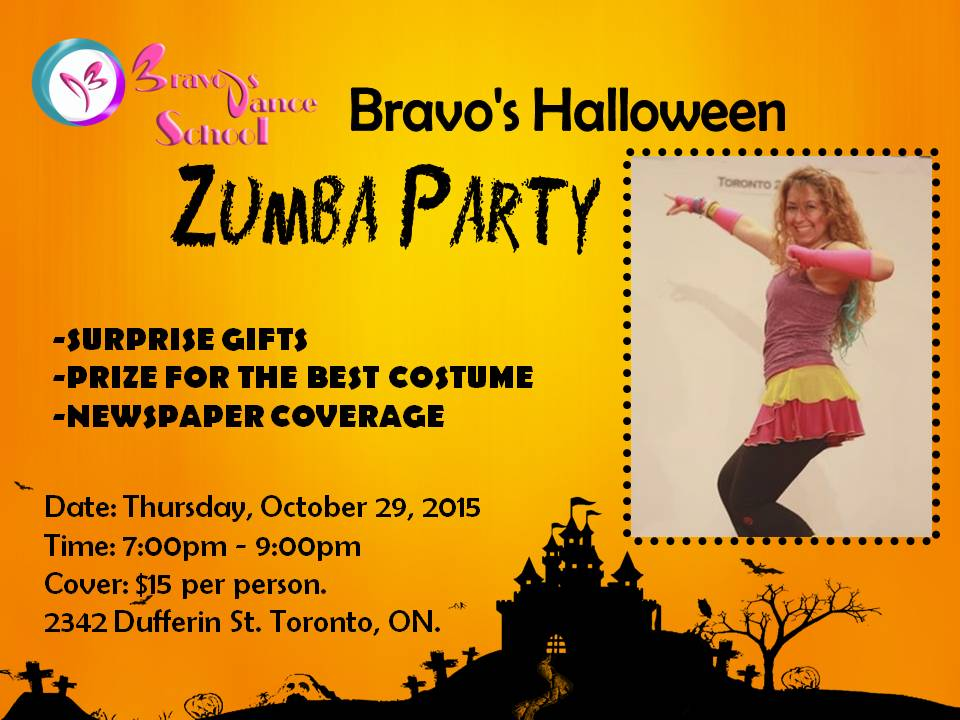Halloween Zumba Party