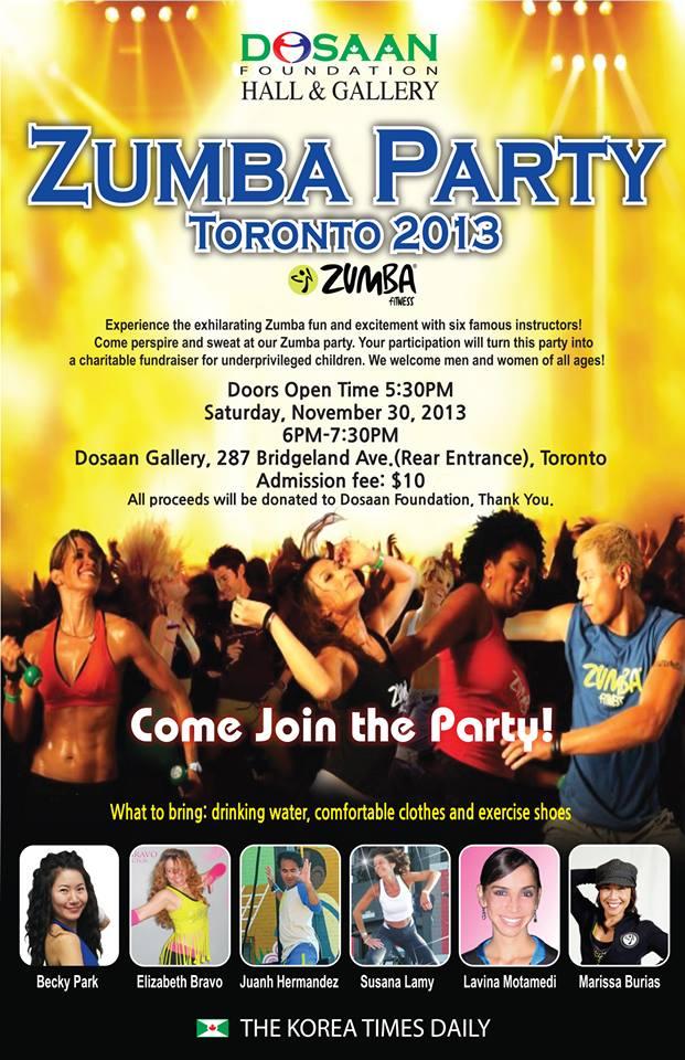 Toronto Zumba Party