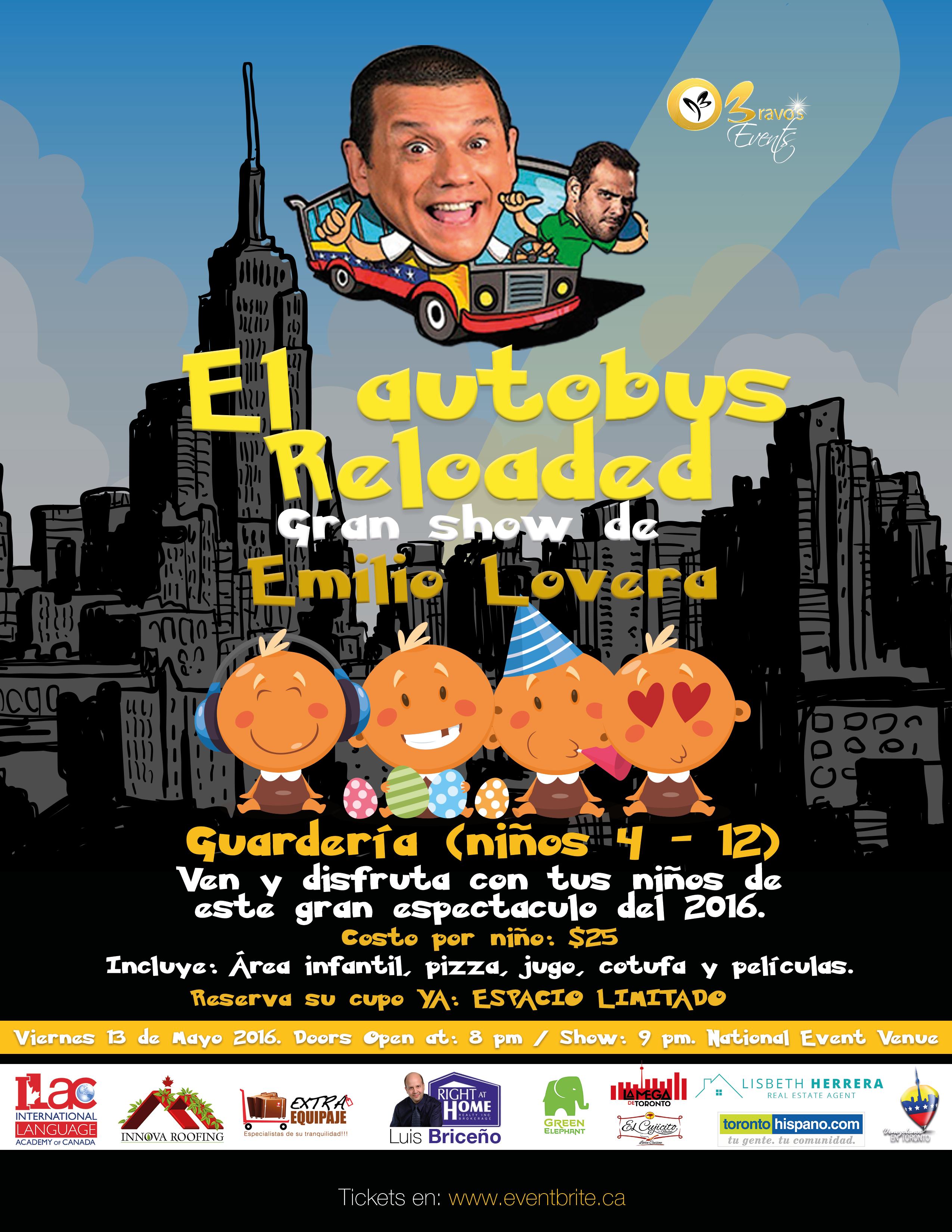 Emilio Lovera - El autobus Reloaded