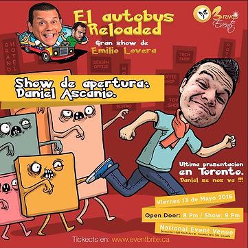 Emilio Lovera 2016 - El Autobus Reloaded