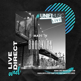 #UnifiMusicLIVE Studio Session 12.05.20 MADE IN BROOKLYN