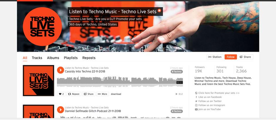 TOP 5 SPOT ON TECHNO LIVE DJ SETS