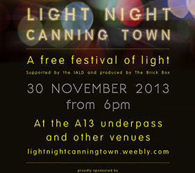 Light Night Canning Town