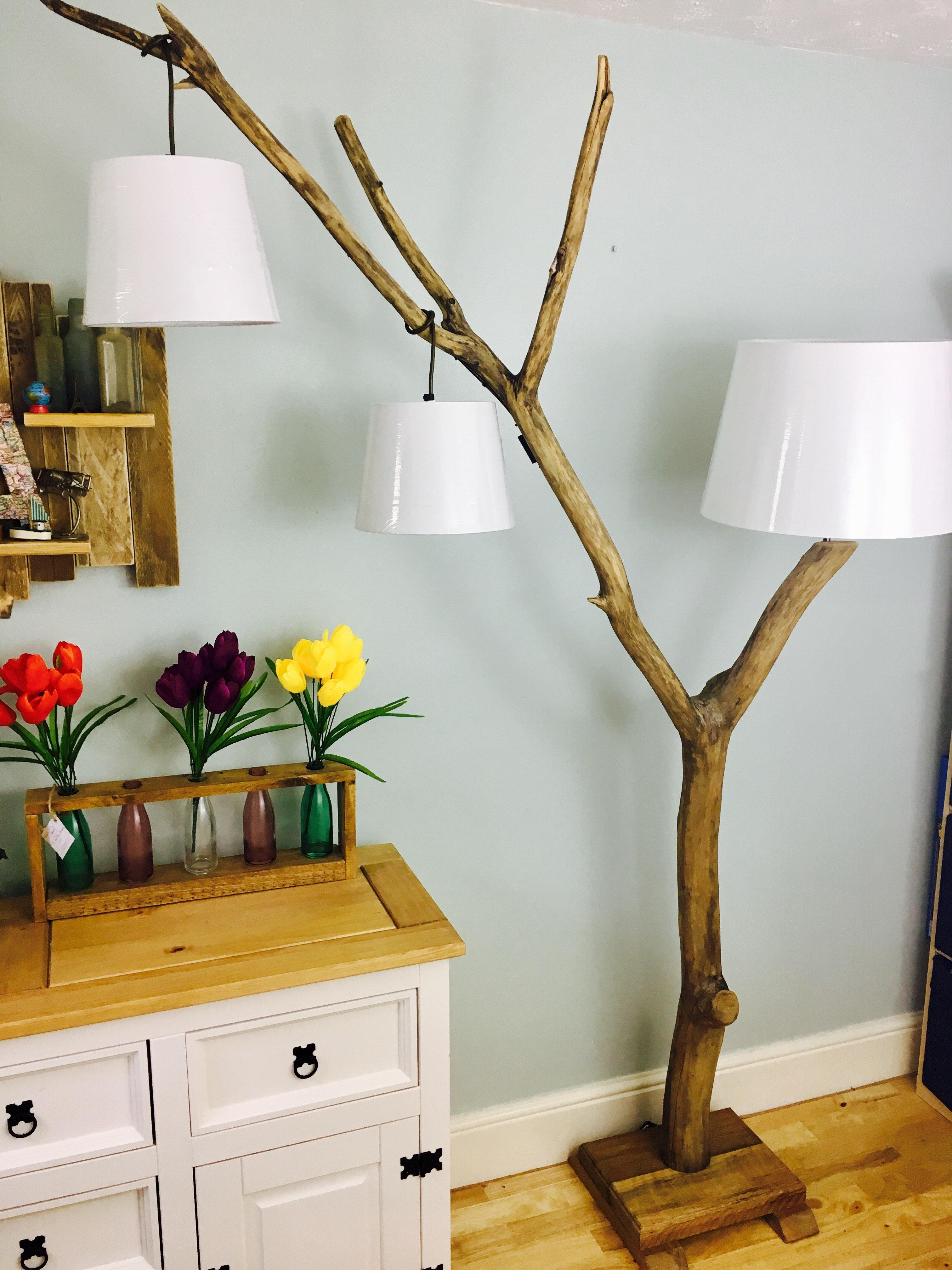 Wild Branch Floor Lamp Welsh Driftwood