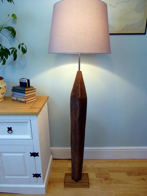 Arrow driftwood floor lamp welsh driftwood arrow driftwood floor lamp mozeypictures Images