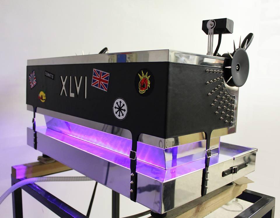 XLVI coffee machine punk