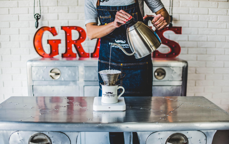 9 Grams coffee