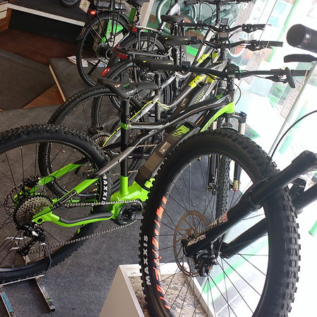 E-bikes from Raleigh, Haibike, Lapierre, Wisper and Emu.
