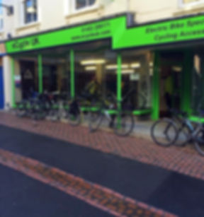 eCycle UK shop in Stroud