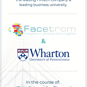 A new collaboration between Facetrom & Wharton