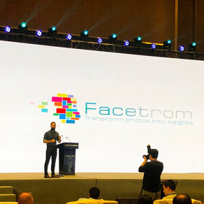 Facetrom presented in the AI summit in China
