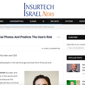 A QA session with the leading Insurtech magazine in Israel