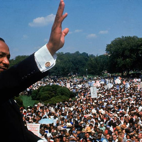 Be Dr. Martin Luther King, even if it is for one second only!