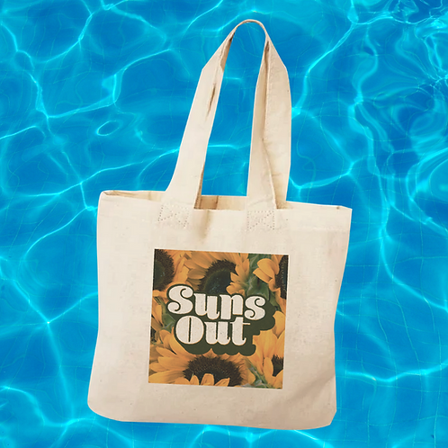 """""""Suns Out"""" Tote Bag"""