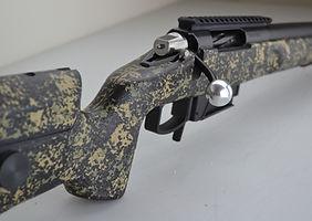 GA Precision Tempest Action, McMillan A5 stock, Badger Ordanance M5E DBM, Jewell trigger, AI magazine, Krieger barrel, 6.5 GAP,