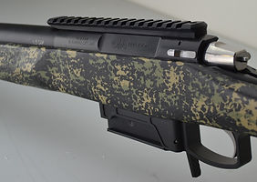 Kelbly atlas tactical action, McMillan A5 stock, Badger Ordanance M5E DBM, Jewell trigger, AI magazine, Krieger barrel, 6.5 Creedmoor,