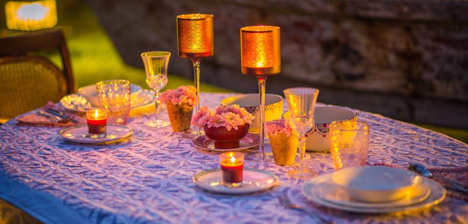 Candle Light Dinner_Hamsa Villas_Goa.jpeg