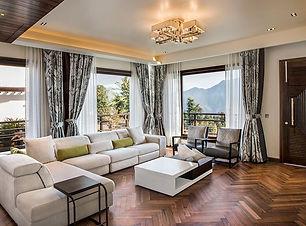 The Pushp Villa - Living Room