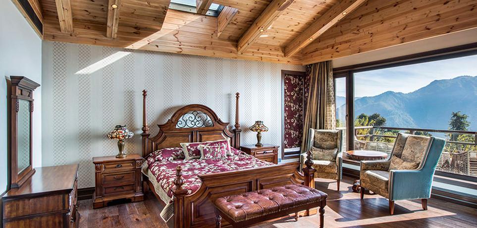 Peacock Master Bedroom