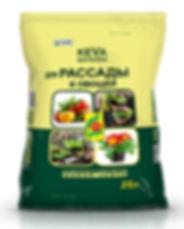 KEVA  BIOTERRA  для рассади и овощей 25л