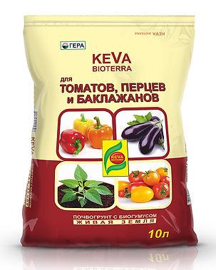КЕВА БИОТЕРРА для рассады и овощей 10л.j
