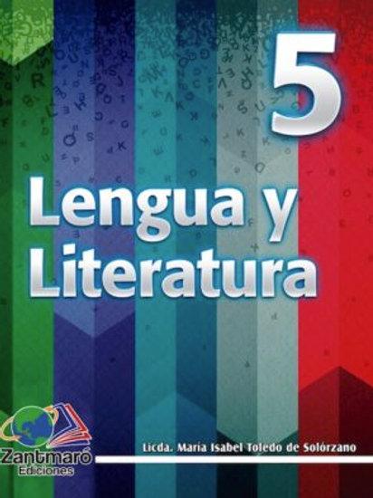 Lengua y Literatura 5 - 2016